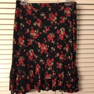 Dresses & Skirts - Floral Trumpet skirt